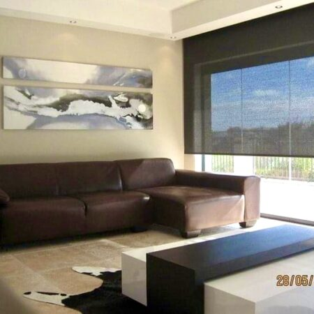 butterfly wings ii - A split, horizontal canvas which hangs in a lovely home.